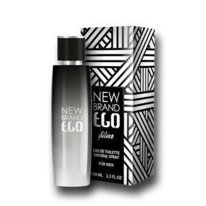 New Brand - Ego Silver Men 100ml Eau De Toilette