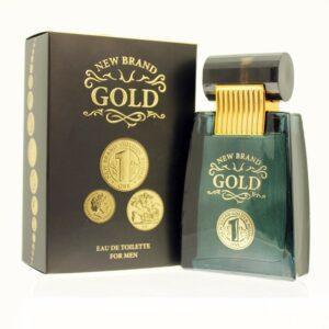 New Brand - Gold Men 100ml EDT férfi illat