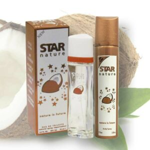 Star Nature Kókusz illatú 70ml EDT + Body Spray 75ml