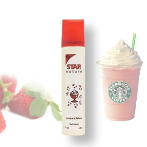 Star Nature Eperkrém illatú body spray 75ml