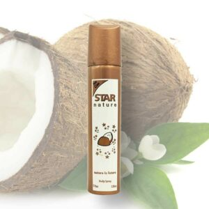 Star Nature 75 ml Kókusz illatú body spray