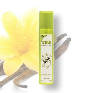 Star Nature 75 ml Vanília illatú body spray