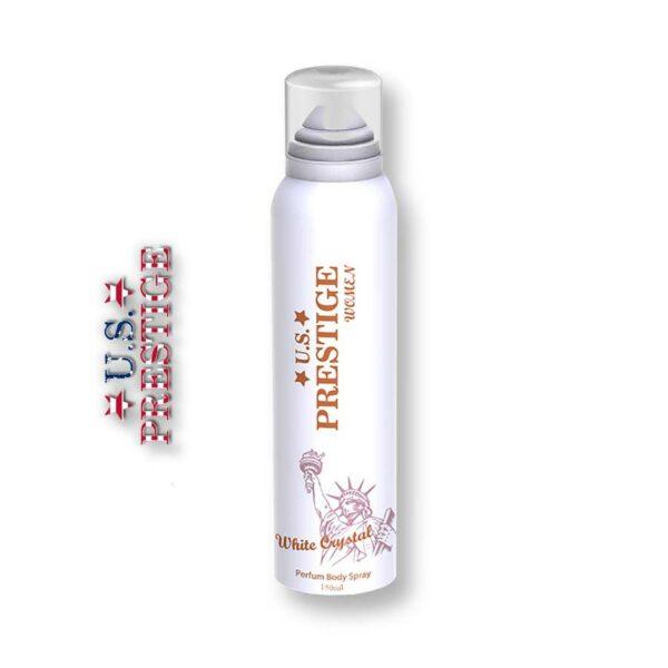 U.S. Prestige White Crystal 150ml Body Spray