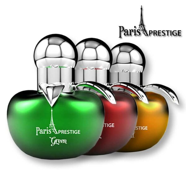 Paris Prestige Apple Green + Gold + Red EDP