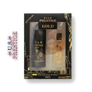 U.S. Prestige Gold 50ml EDP 150ml Deo Dobozban