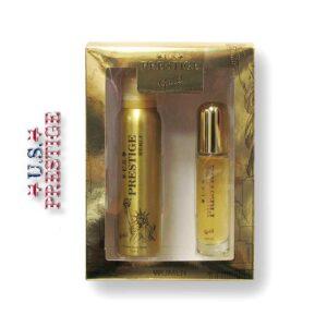 U.S. Prestige Gold 50ml EDP 150ml Body Spray Női Díszdoboz