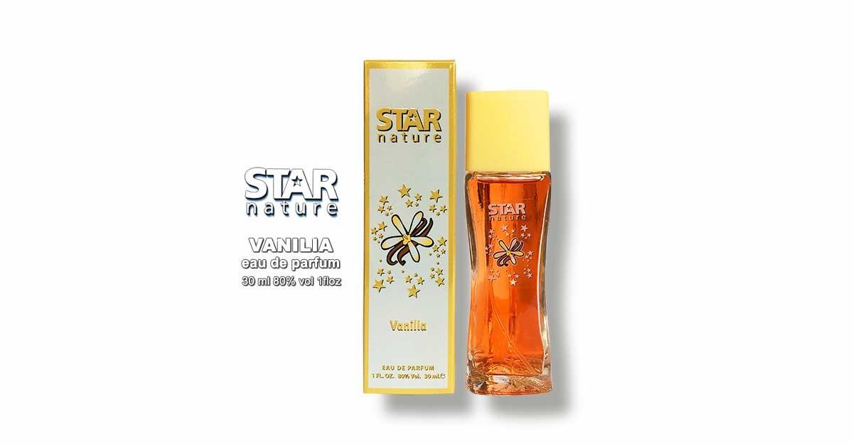 Star Nature Vanilia illat illatú parfüm EDP 30ml Parfüm Neked