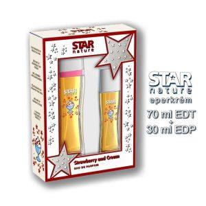 Star Nature Eperkrém illatú Díszdoboz