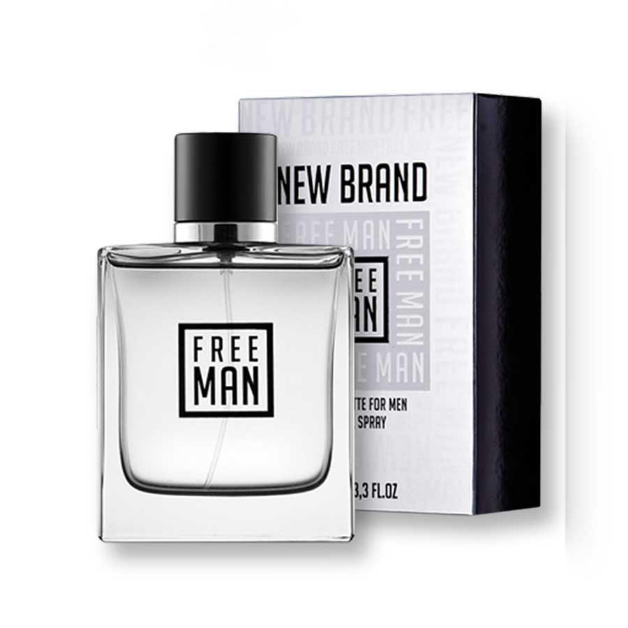 New Brand Free Man 100ml EDT
