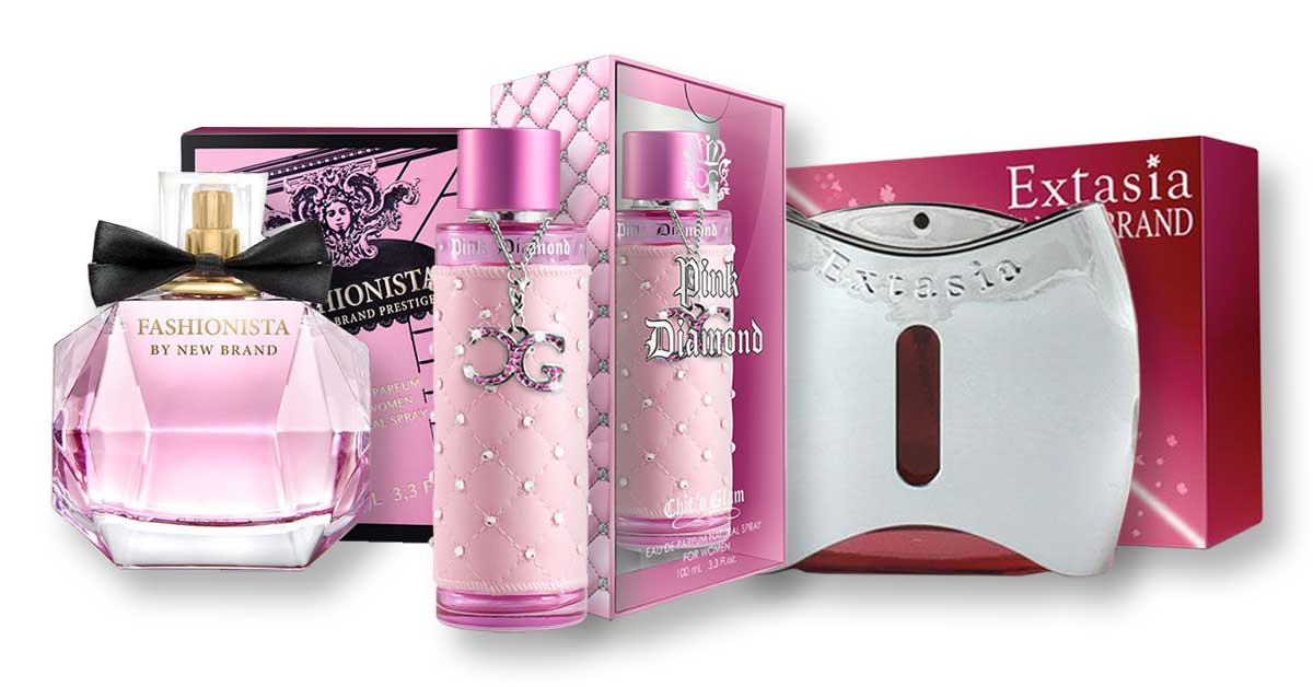 Pink csomag 2 x 100 ml NB + 1 x 100ml C&G Nőknek Parfüm Neked