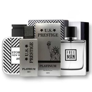 Silver csomag 2 x 50 ml New Brand + 1 x 50ml US Prestige